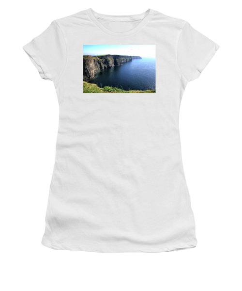 Cliffs Of Moher Women's T-Shirt (Junior Cut) by Catherine Alfidi
