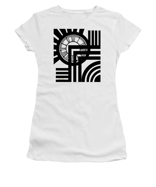 Clock Design Vertical Women's T-Shirt