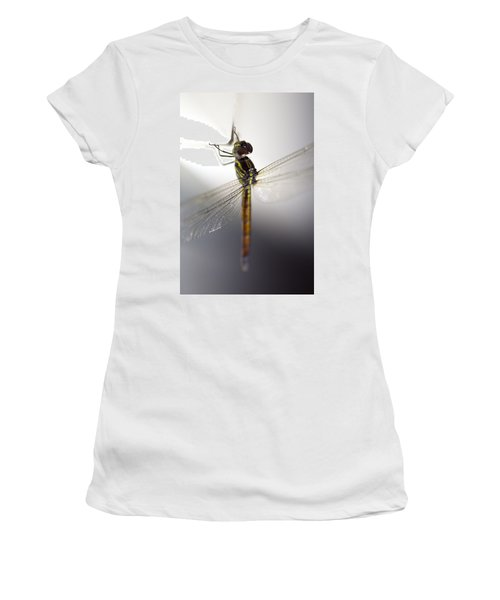 Close Up Shoot Of A Anisoptera Dragonfly Women's T-Shirt (Athletic Fit)