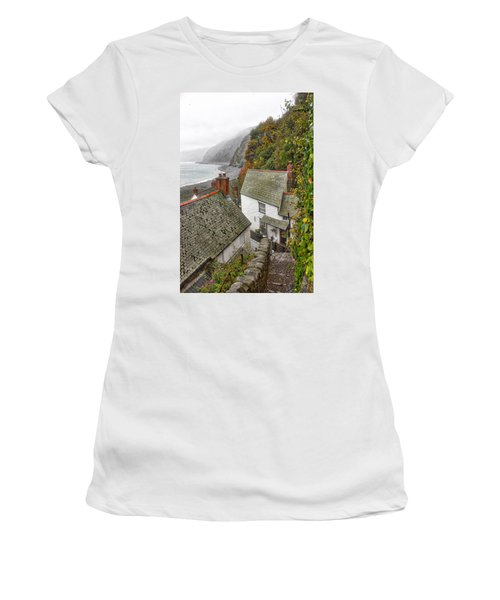 Clovelly Coastline Women's T-Shirt