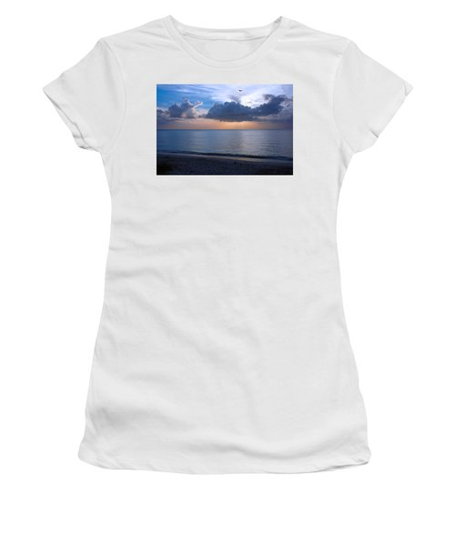 Cloud Creatures At Delnor Wiggins Pass State Park Women's T-Shirt