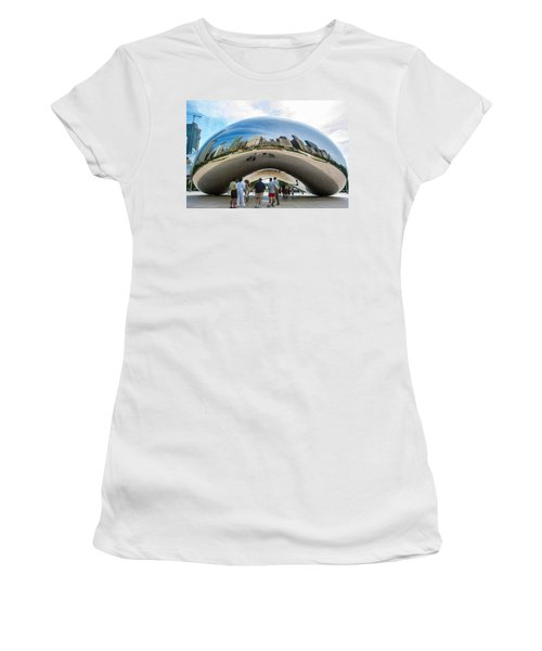 Cloud Gate Aka Chicago Bean Women's T-Shirt