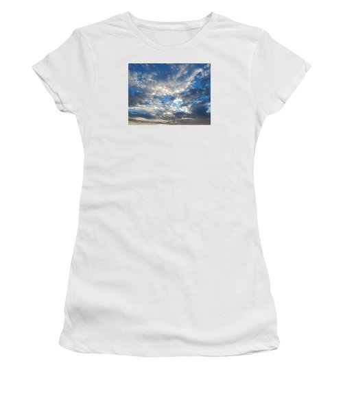 Clouds #4049 Women's T-Shirt