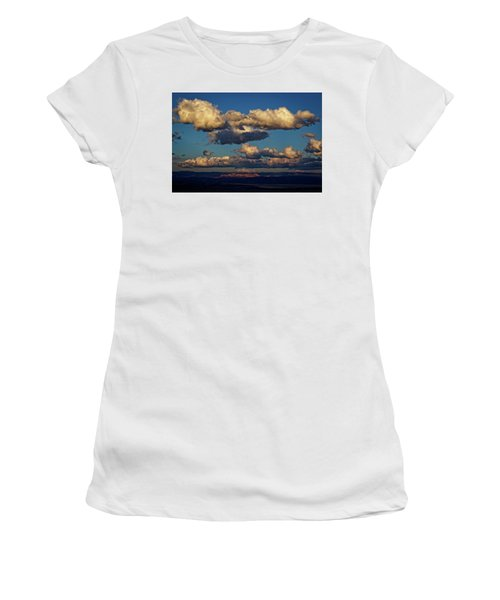 Clouds And Red Rocks Hdr Women's T-Shirt