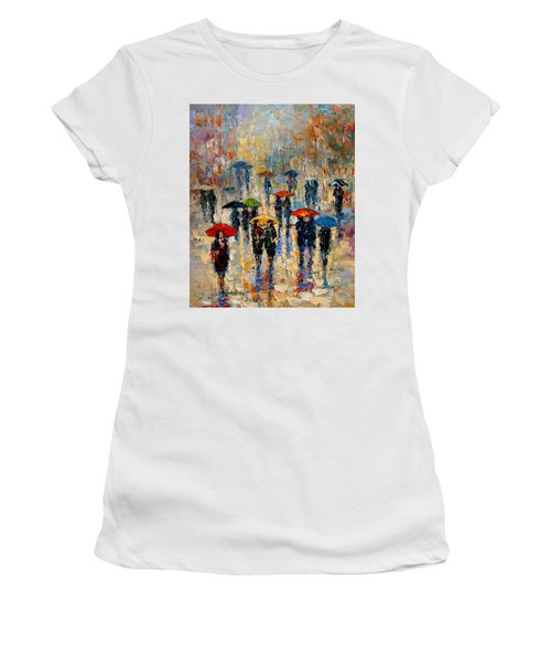 Cloudy Day Women's T-Shirt (Junior Cut) by Andre Dluhos