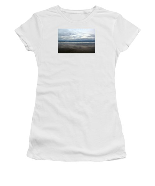 Cloudy Reflections Women's T-Shirt (Athletic Fit)