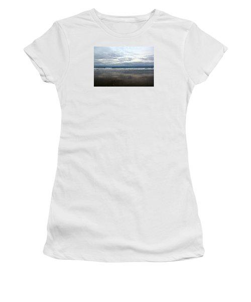Cloudy Reflections Women's T-Shirt (Junior Cut)