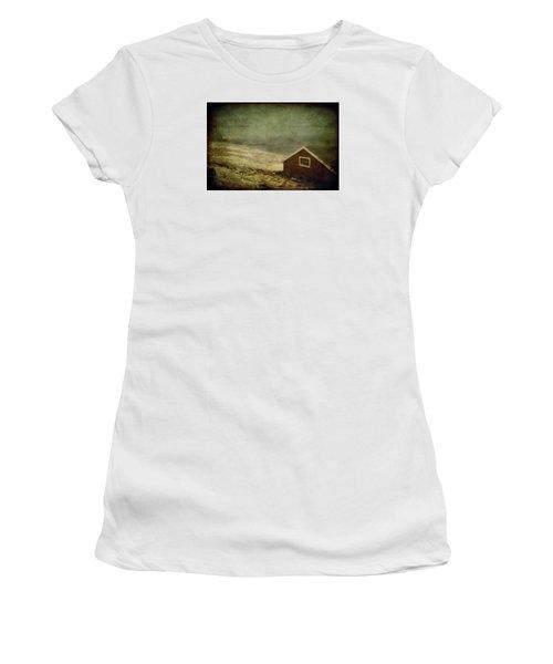 Coast Of Norway Women's T-Shirt (Junior Cut) by Vittorio Chiampan