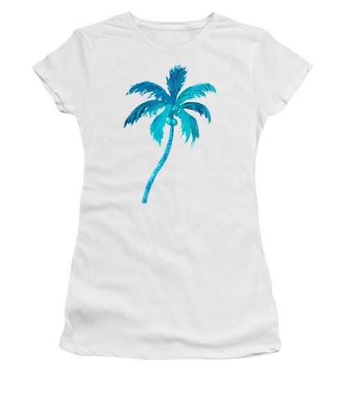 Coconut Palm Tree Women's T-Shirt