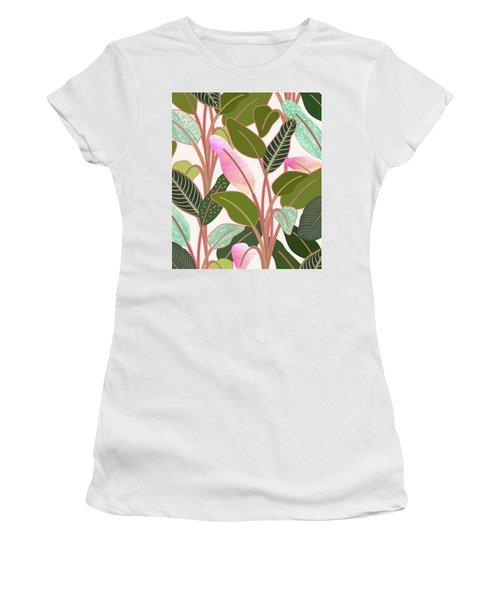 Color Paradise Women's T-Shirt (Athletic Fit)