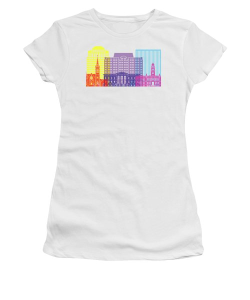 Colorado Springs_v2 Skyline Pop Women's T-Shirt