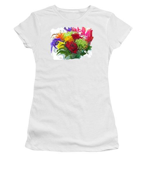 Colorful Bouquet Women's T-Shirt