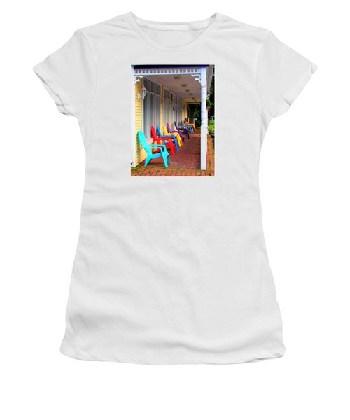 Colorful Chairs Women's T-Shirt