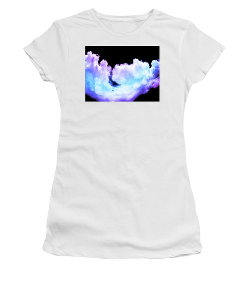Colorful Clouds Women's T-Shirt (Athletic Fit)