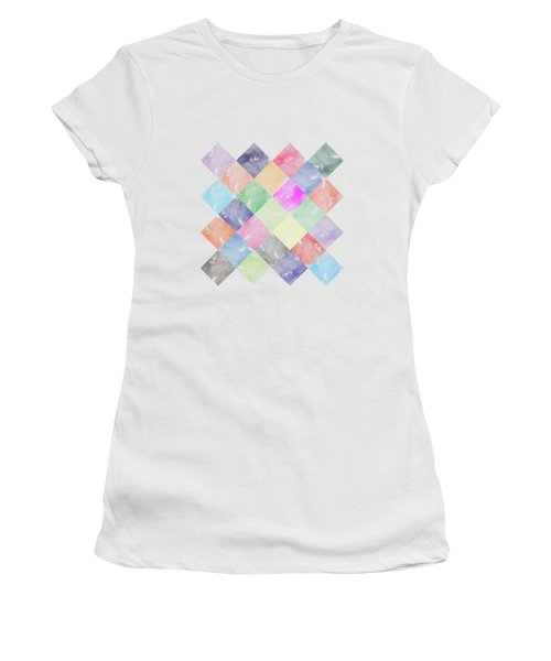Colorful Geometric Patterns IIi Women's T-Shirt