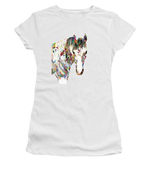 Colorful Horse Women's T-Shirt