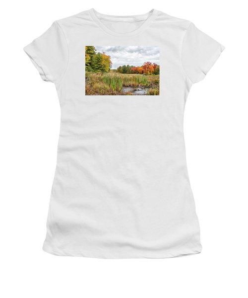 Colorful Webster Bog Women's T-Shirt