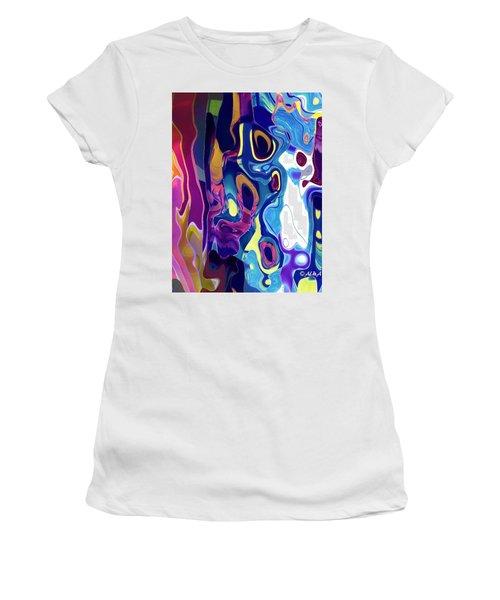 Colorinsky Women's T-Shirt (Junior Cut) by Alika Kumar