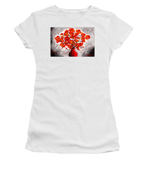 Colors Of Love Women's T-Shirt (Athletic Fit)