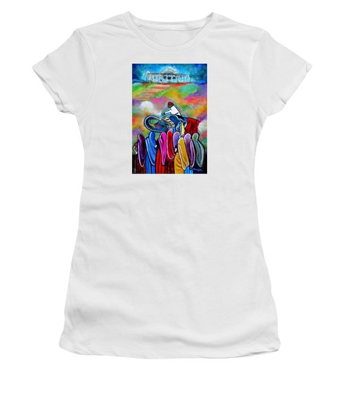 Colors Of Rajasthan Women's T-Shirt (Athletic Fit)