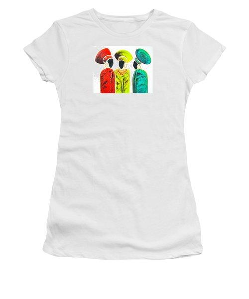 Colourful Trio - Original Artwork Women's T-Shirt