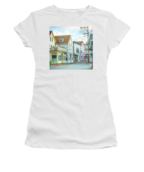 Commercial St #1 Women's T-Shirt (Athletic Fit)