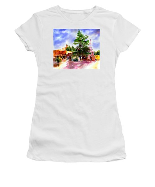 Commercial Street, Old Town Auburn Women's T-Shirt