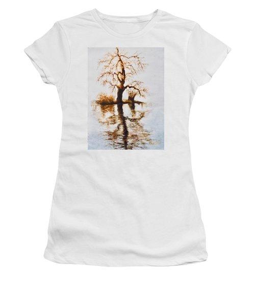 Como Lake Reflections Women's T-Shirt
