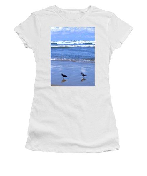 Companion Crows Women's T-Shirt (Athletic Fit)