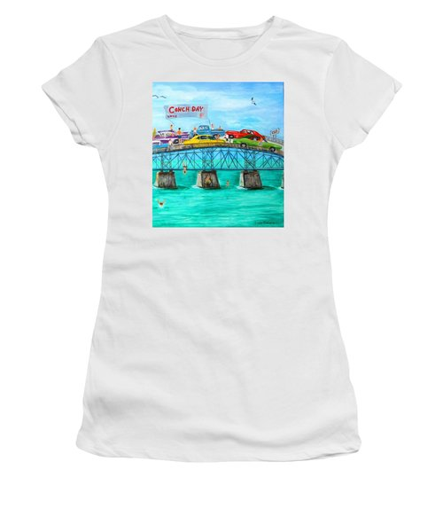 Conch Day Women's T-Shirt (Athletic Fit)