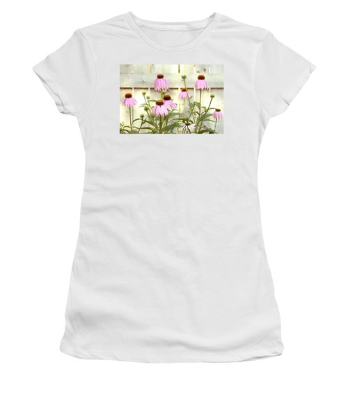 Coneflower Patch Women's T-Shirt (Athletic Fit)