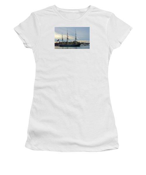 Constellation Returns Women's T-Shirt (Athletic Fit)