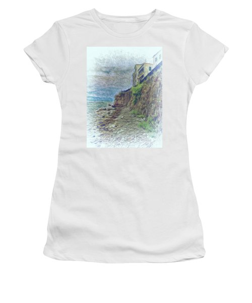 Corfu 33 - Corfu Rocks Women's T-Shirt (Athletic Fit)