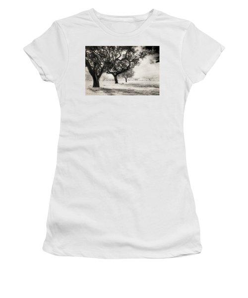 Cork Trees Women's T-Shirt (Junior Cut) by Celso Bressan