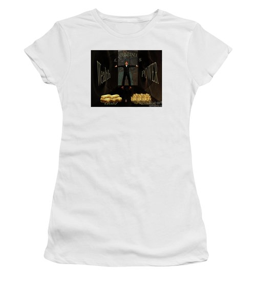 Corridor Of Wealth Women's T-Shirt (Athletic Fit)