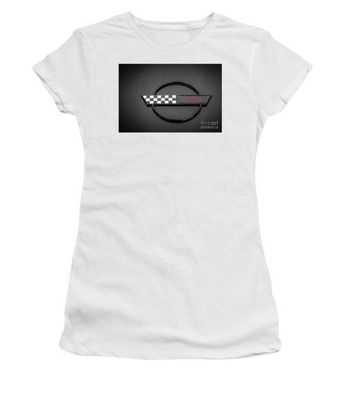 Corvette C4 Hood Ornament Women's T-Shirt