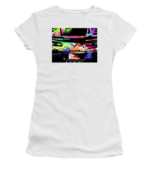 Corvette Pop Art 2 Women's T-Shirt