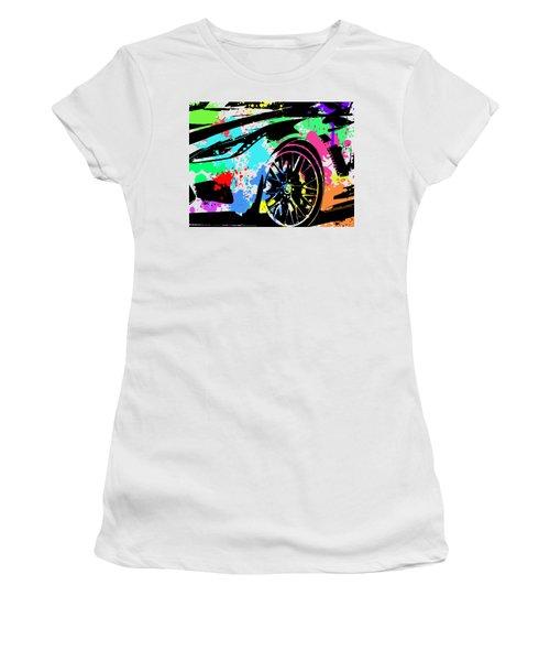 Corvette Pop Art 3 Women's T-Shirt