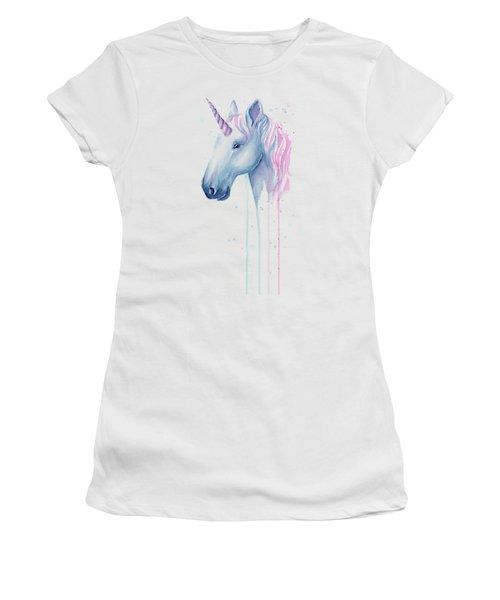 Cotton Candy Unicorn Women's T-Shirt