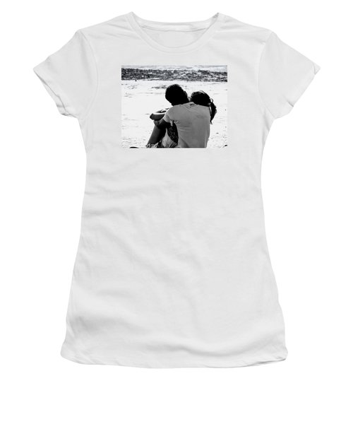 Couple On Beach Women's T-Shirt