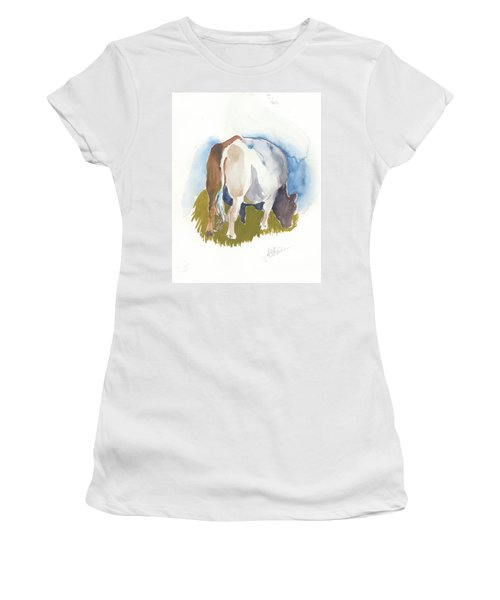 Cow I Women's T-Shirt (Athletic Fit)