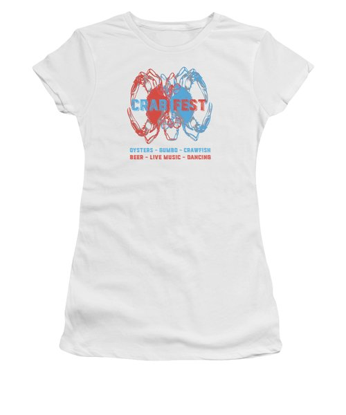 Crab Fest Tee Women's T-Shirt (Athletic Fit)