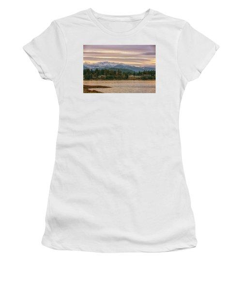 Women's T-Shirt (Junior Cut) featuring the photograph Craig Bay by Randy Hall