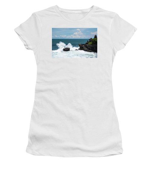 Crash Into Me Women's T-Shirt (Athletic Fit)