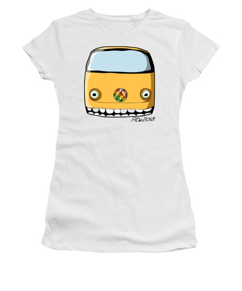 Crazy Retro Van Women's T-Shirt