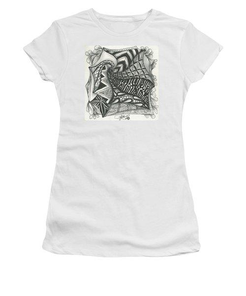 Crazy Spiral Women's T-Shirt