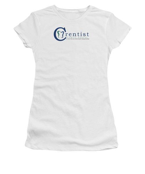Crentist Family Dental  Women's T-Shirt (Athletic Fit)