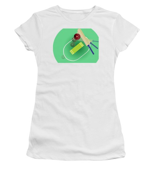 Cricket Women's T-Shirt (Athletic Fit)