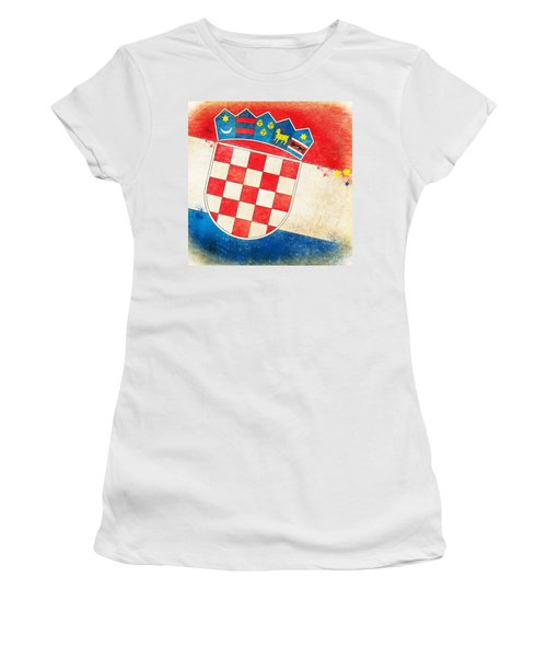 Croatia Flag Women's T-Shirt