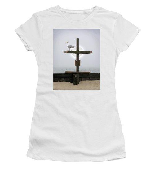 Cross At West Dennis Beach Women's T-Shirt